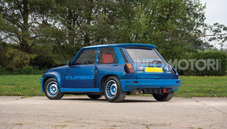 Renault 5 Turbo, RMSothebys la mette all'asta a Villa Erba - Foto 3 di 18