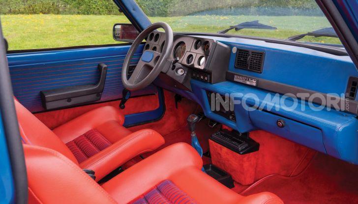 Renault 5 Turbo, RMSothebys la mette all'asta a Villa Erba - Foto 10 di 18