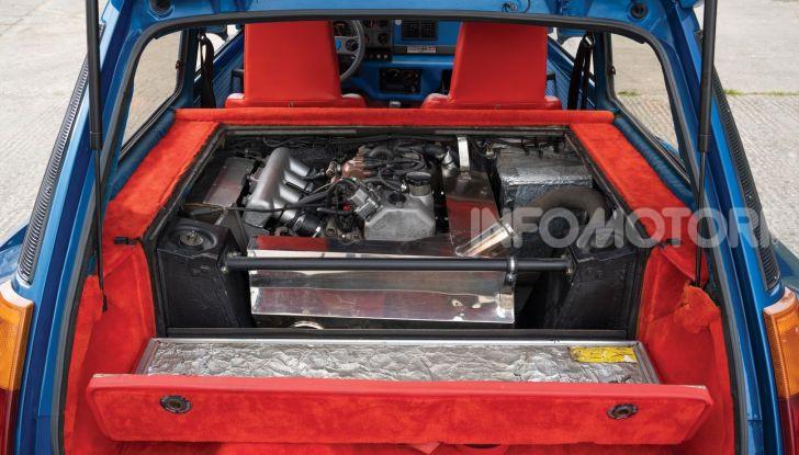 Renault 5 Turbo, RMSothebys la mette all'asta a Villa Erba - Foto 13 di 18