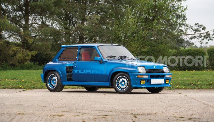 Renault 5 Turbo, RMSothebys la mette all'asta a Villa Erba - Foto 1 di 18