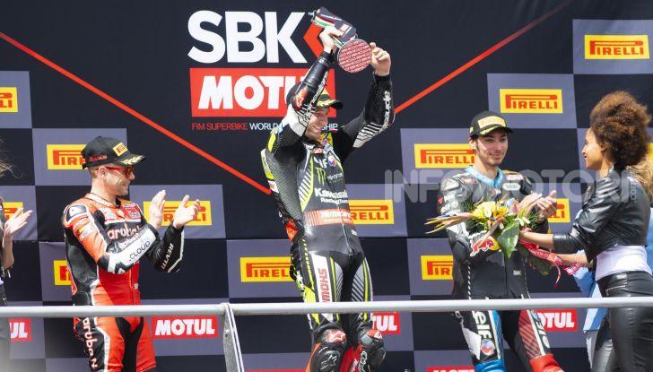 SBK 2019 GP d'Italia: a Imola Jonathan Rea rompe il dominio di Bautista e della Ducati - Foto 28 di 35