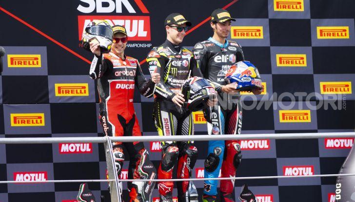 SBK 2019 GP d'Italia: a Imola Jonathan Rea rompe il dominio di Bautista e della Ducati - Foto 29 di 35