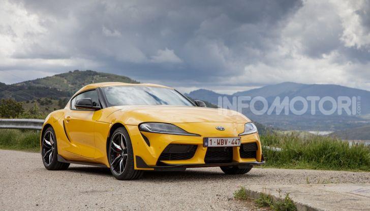 Prova comparativa tra Toyota Supra, Porsche Cayman S e Audi TT RS - Foto 25 di 28