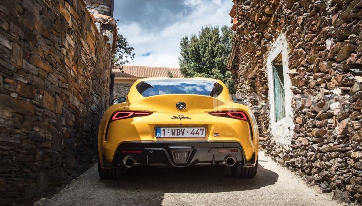 Prova comparativa tra Toyota Supra, Porsche Cayman S e Audi TT RS - Foto 24 di 28