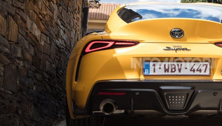 Prova comparativa tra Toyota Supra, Porsche Cayman S e Audi TT RS - Foto 7 di 28