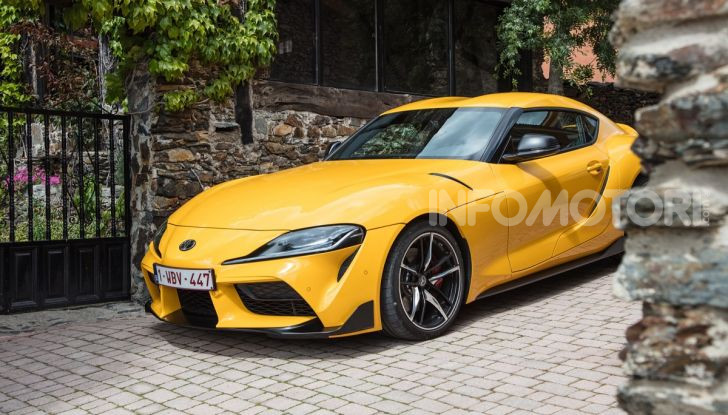 Prova comparativa tra Toyota Supra, Porsche Cayman S e Audi TT RS - Foto 23 di 28