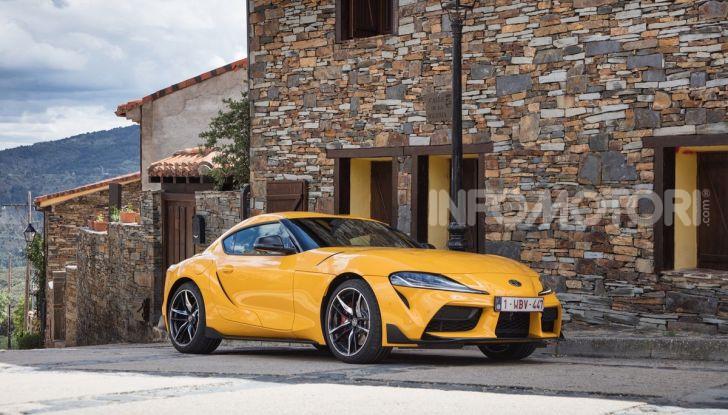 Prova comparativa tra Toyota Supra, Porsche Cayman S e Audi TT RS - Foto 21 di 28