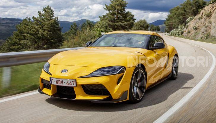 Prova comparativa tra Toyota Supra, Porsche Cayman S e Audi TT RS - Foto 2 di 28