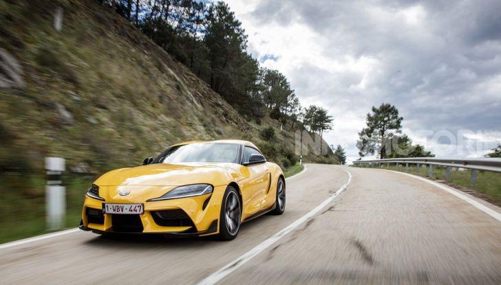 Prova comparativa tra Toyota Supra, Porsche Cayman S e Audi TT RS - Foto 20 di 28