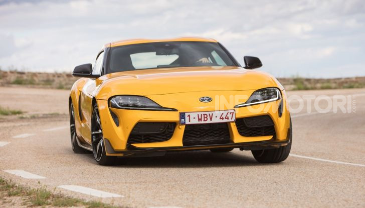 Prova comparativa tra Toyota Supra, Porsche Cayman S e Audi TT RS - Foto 19 di 28