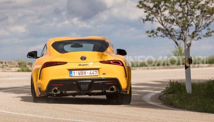 Prova comparativa tra Toyota Supra, Porsche Cayman S e Audi TT RS - Foto 18 di 28