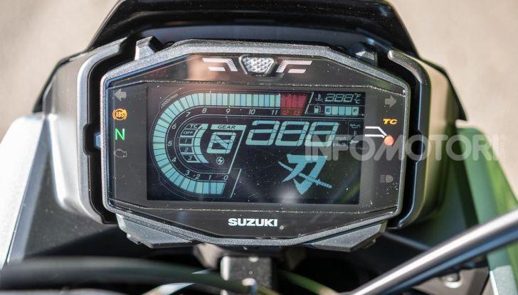 Suzuki GSX-S 1000 Katana strumentazione