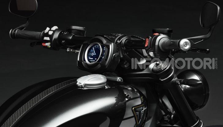 Project Triumph TE-1: il nuovo progetto di moto elettrica di Triumph - Foto 10 di 33