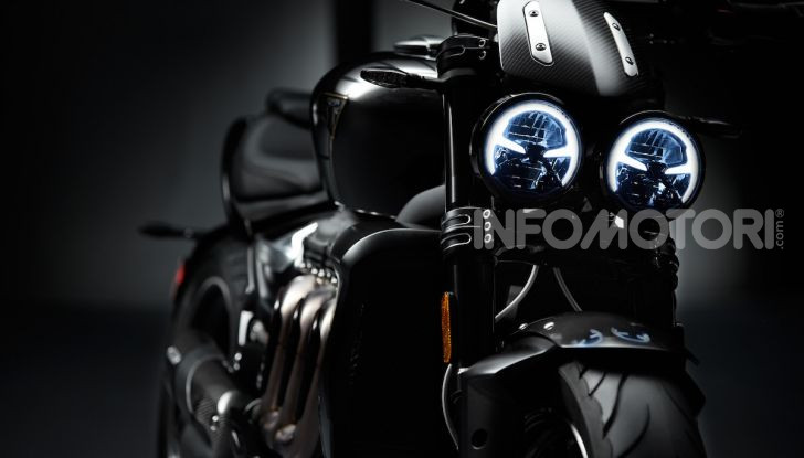 Project Triumph TE-1: il nuovo progetto di moto elettrica di Triumph - Foto 11 di 33