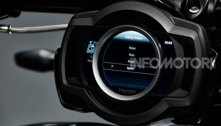Triumph Rocket 3 arriverà anche in versione GT - Foto 19 di 33