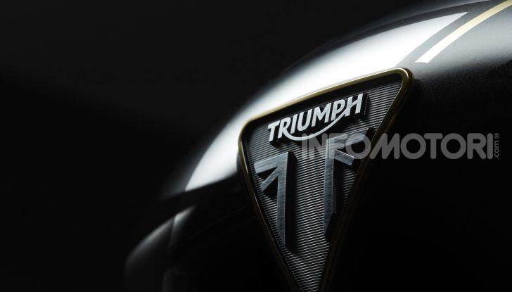 Project Triumph TE-1: il nuovo progetto di moto elettrica di Triumph - Foto 21 di 33
