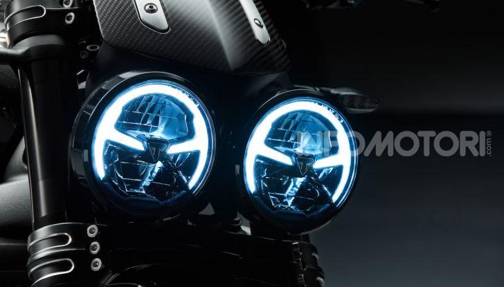 Project Triumph TE-1: il nuovo progetto di moto elettrica di Triumph - Foto 27 di 33