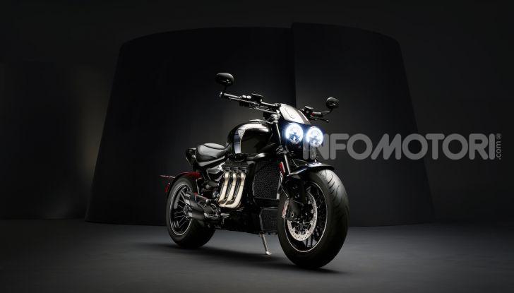 Triumph Rocket 3 arriverà anche in versione GT - Foto 3 di 33