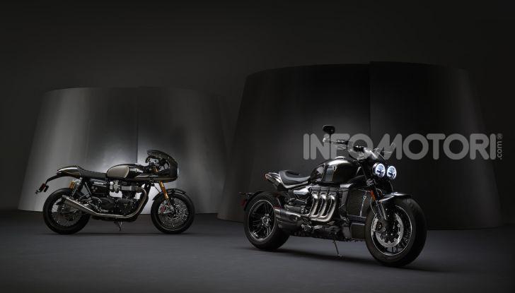 Project Triumph TE-1: il nuovo progetto di moto elettrica di Triumph - Foto 32 di 33