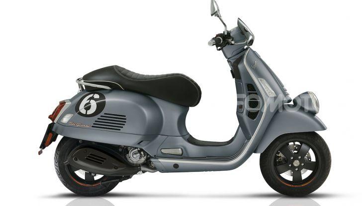 Vespa Sei Giorni II Edition: ora più potente con il nuovo motore 300 hpe - Foto 2 di 3