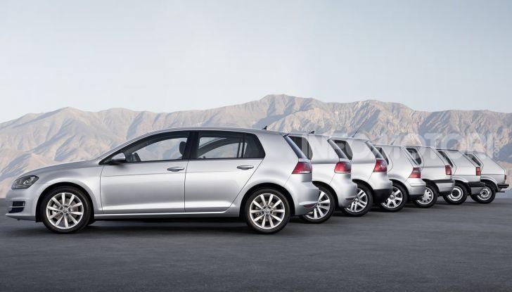 Volkswagen Golf, storia dell'auto eterna che ha cambiato il gioco - Foto 4 di 13