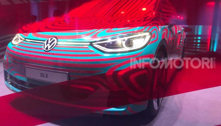 Volkswagen ID.3, la prima elettrica della famiglia ID VW - Foto 19 di 20