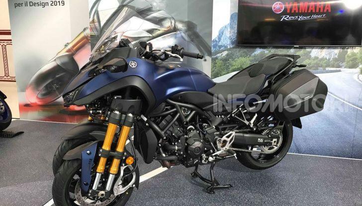 Yamaha Niken: al Moard arriva la moto (a tre ruote) che non c'era - Foto 3 di 8