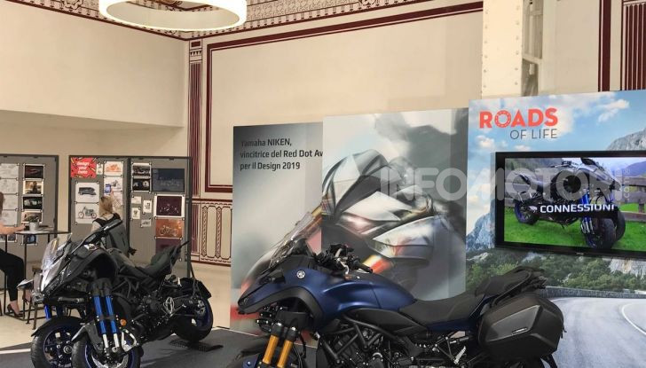 Yamaha Niken: al Moard arriva la moto (a tre ruote) che non c'era - Foto 5 di 8