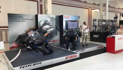 Yamaha Niken: al Moard arriva la moto (a tre ruote) che non c'era