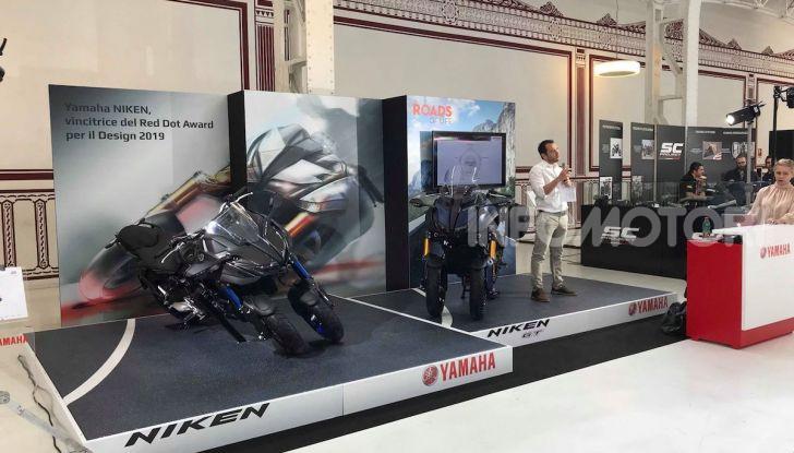 Yamaha Niken: al Moard arriva la moto (a tre ruote) che non c'era - Foto 6 di 8