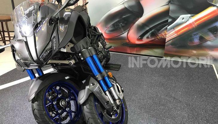 Yamaha Niken: al Moard arriva la moto (a tre ruote) che non c'era - Foto 7 di 8