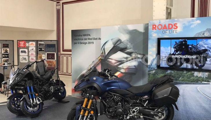Yamaha Niken: al Moard arriva la moto (a tre ruote) che non c'era - Foto 8 di 8