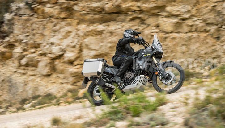 Yamaha Tenere 700 arriva nei concessionari con Explorer e Rally Pack - Foto 11 di 16