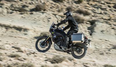 Yamaha Tenere 700 arriva nei concessionari con Explorer e Rally Pack