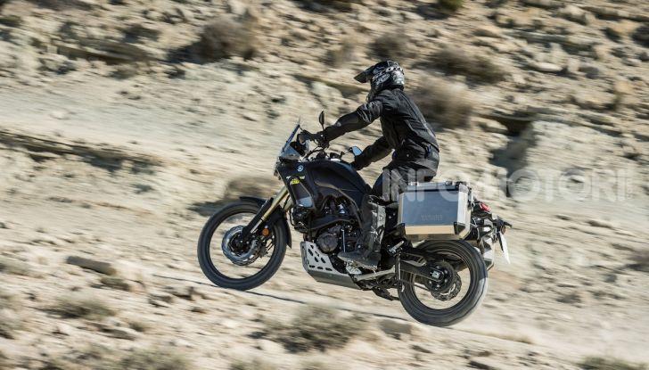Yamaha Tenere 700 arriva nei concessionari con Explorer e Rally Pack - Foto 13 di 16