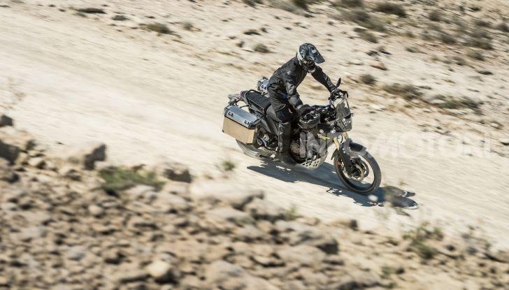 Yamaha Tenere 700 arriva nei concessionari con Explorer e Rally Pack - Foto 14 di 16