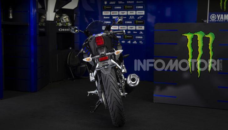 Yamaha  YZF-R125 Monster Energy Yamaha MotoGP Edition: piccola ma con DNA sportivo - Foto 15 di 22