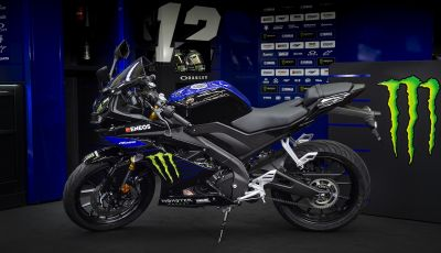 Yamaha  YZF-R125 Monster Energy Yamaha MotoGP Edition: piccola ma con DNA sportivo