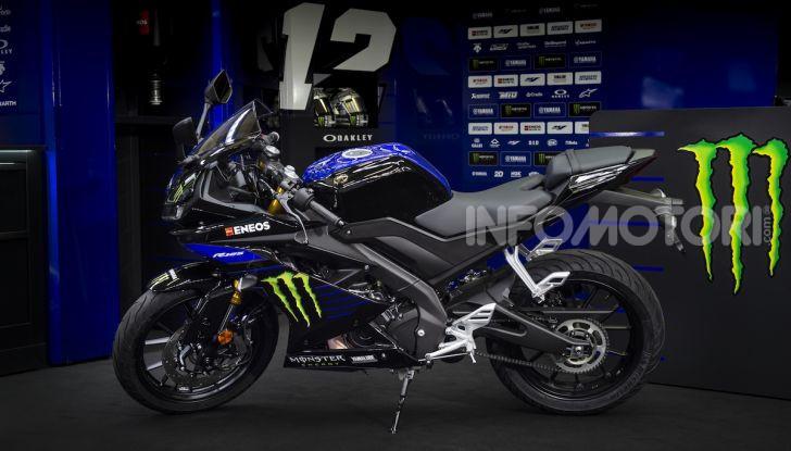 Yamaha  YZF-R125 Monster Energy Yamaha MotoGP Edition: piccola ma con DNA sportivo - Foto 17 di 22