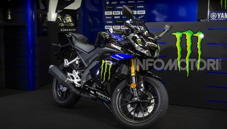 Yamaha  YZF-R125 Monster Energy Yamaha MotoGP Edition: piccola ma con DNA sportivo - Foto 18 di 22
