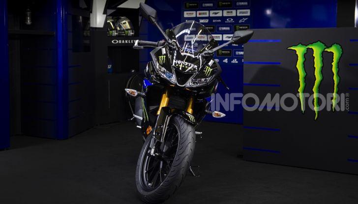 Yamaha  YZF-R125 Monster Energy Yamaha MotoGP Edition: piccola ma con DNA sportivo - Foto 19 di 22