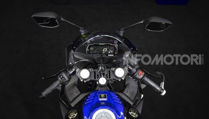 Yamaha  YZF-R125 Monster Energy Yamaha MotoGP Edition: piccola ma con DNA sportivo - Foto 2 di 22
