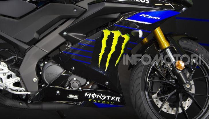 Yamaha  YZF-R125 Monster Energy Yamaha MotoGP Edition: piccola ma con DNA sportivo - Foto 3 di 22
