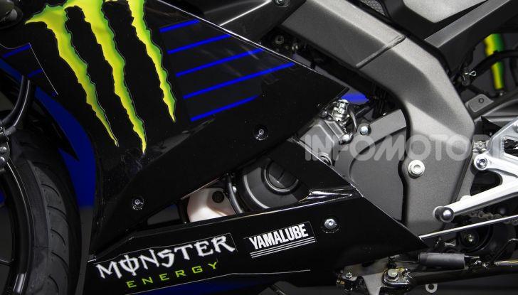 Yamaha  YZF-R125 Monster Energy Yamaha MotoGP Edition: piccola ma con DNA sportivo - Foto 4 di 22