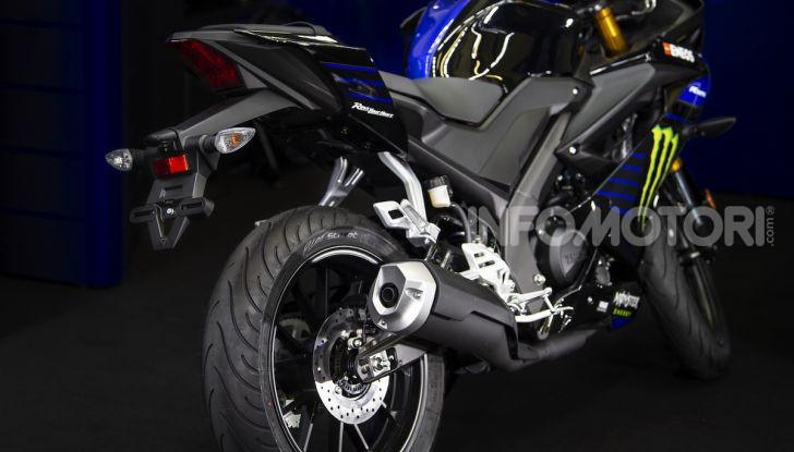 Yamaha  YZF-R125 Monster Energy Yamaha MotoGP Edition: piccola ma con DNA sportivo - Foto 5 di 22