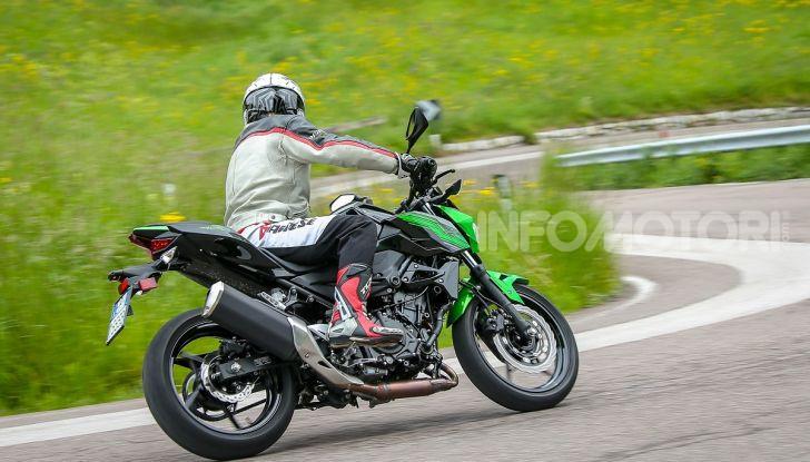 Prova Kawasaki Z400 2019: ecco la nuova naked di Akashi - Foto 23 di 23