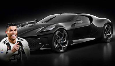 Cristiano Ronaldo vuole comprare la Bugatti La Voiture Noire per 18 milioni