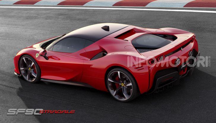Ferrari SF90 Stradale: la prima ibrida di serie di Maranello - Foto 3 di 8