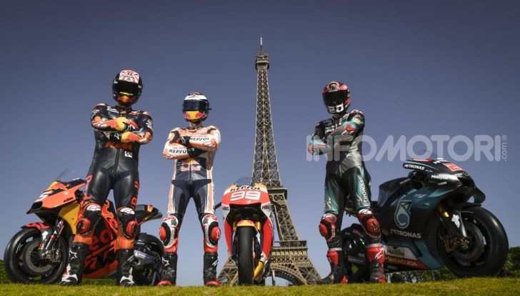 MotoGP 2019 GP di Francia, Le Mans: Marc Marquez trionfa davanti alle Ducati di Dovizioso e Petrucci, Rossi quinto - Foto 1 di 19
