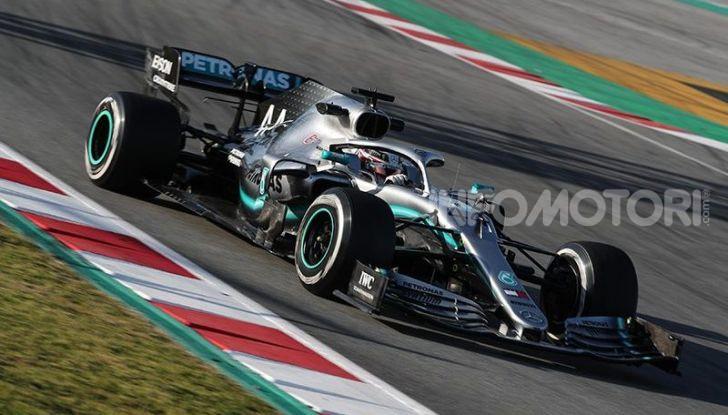 F1 2019 Test Barcellona, Day 2: Mazepin e la Mercedes davanti a tutti, Fuoco terzo con la Ferrari seguito da Leclerc - Foto 4 di 20